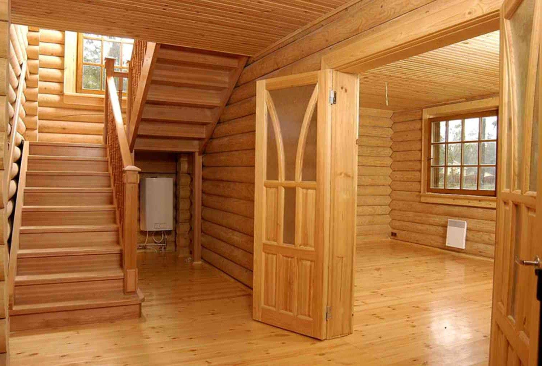 может внутренняя отделка деревянного дома вагонкой фото как поздравить